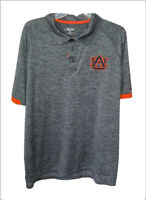 Chiliwear mens XL polo golf shirt gray orange Auburn University War Eagle