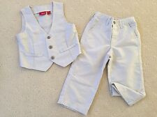 """AS NEW!  """" Sprouts"""" Boy's Formal Suit, Ivory White, Size 1 & 2"""