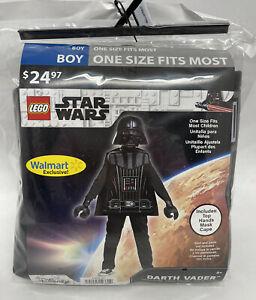 LEGO Darth Vader Boy Child Costume - Disney Star Wars - Walmart Exclusive