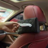 Sun Visor Tissue Box Napkin Holder Car Storage Box Car Accessories Universal LP