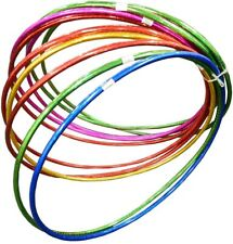 NEW Large High Gloss Hula Hoops Kids Adults Out Door Fun Exercise 70/60/55 cm