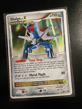 DMG Pokemon DIALGA LV.X Card Black Star PROMO Set DP37 Ultra Rare Tin Holo TCG