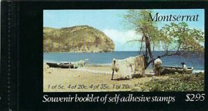 1975 Montserrat - Carib Artifacts Booklet