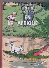Tintin en Afrique - Pastiche, album cartonné 48 pages couleurs. 2016. ETAT NEUF
