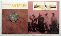 2013 Centenary of Canberra - 20 cent coin - PNC - Original Issue price $15.95