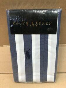 Ralph Lauren Club Stripe Pillowcase Sham 65cm x 65cm 100% Cotton Pillowcases