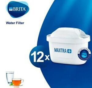 Brita Maxtra Plus+ Water Filter Cartridges, 12 Box, Genuine Brita Product