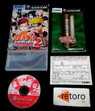 NARUTO 2 GEKITOU NINJA TAISEN 2 Nintendo Gamecube JAP GAME CUBE GC
