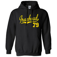 Ironhead 79 HOODIE - Hooded 1979 Custom Chopper Bobber Sweatshirt - All Colors