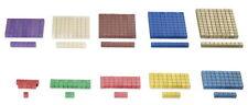 Rechenstäbchen Montessori-Material, Würfelmaterial, 100 Teile zur Freiarbeit