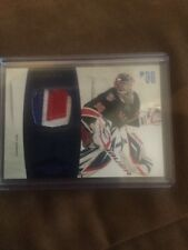 10-11 Dominion Henrik Lundqvist Nameplate Patch 06/25