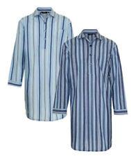 Cotton Blend Regular Size Nightshirts Nightwear for Men