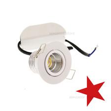 FARETTO LED COB 3w=40w puntoluce incasso a molle orientabile 240Lm 220v