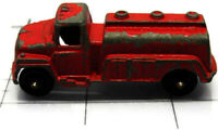 Vintage TootsieToy Fuel Truck Model Car Toy Diecast Red 1960's