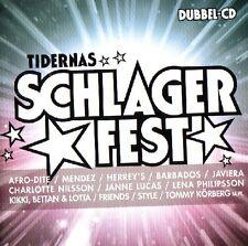 2 CD tidernas canzonette fisso, Melodifestivalen, Eurovision, Svezia HITS + KARAOKE