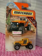 2018 Matchbox #115 MBX 4X4☆orange; 33 ADVENTURE TEAM☆MBX OFF ROAD ☆case J