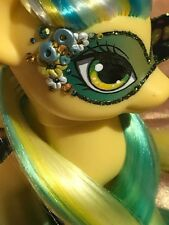 My Little Pony Custom **CHRYSOLITE** G4 FS Flutter Pony Sunset Shimmer Swarovski