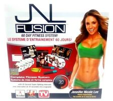 JNL Fusion 60 Day Fitness System w/ Rope, DVD & More - Body FX Fat Burn Workout