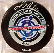 MARIO LEMIEUX 2004 SIGNED WORLD CUP HOCKEY Canada AUTOGRAPHED GAME PUCK JSA