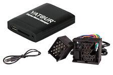 Yatour USB SD AUX MP3 Adapter + Bluetooth Freisprechanlage für BMW Rundpinanschl