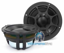 "MOREL ELATE 5.25"" CAR AUDIO MIDWOOFERS 5"" 160 WATT 4 OHM MIDRANGE SPEAKERS PAIR"