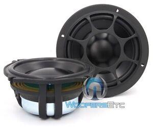 """MOREL ELATE MW5 CAR AUDIO 5"""" 1000W MAX 4 OHM MIDRANGE SPEAKERS PAIR NEW"""