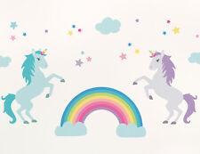 57pc Bright Star Kids Baby Girl / Boy Wall Decals for Nursery - Unicorn