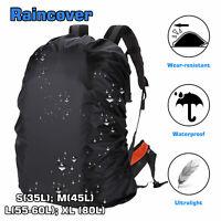 Dust Waterproof Backpack Rain Cover Bag for Backpack Rucksack Traval Camp Hiking