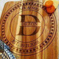 Personalised Bread Board Chopping Board Custom Engraved Chopping Paddle Board