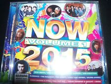 Now 2015 Vol 1 Various CD (ft Sam smith Vance Joy One Direction Selena Gomez) –