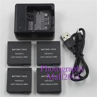 For Xiaomi Yi AZ16-1 AZ161 Battery+Dual Charger For Xiaomi Yi 2 4K Sports Camera
