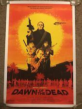 Andrew Swainson Dawn Of The Dead Print Movie Poster Mondo George Romero Zombies