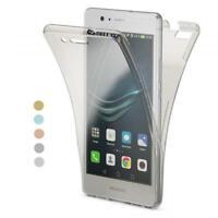 Handy Hülle für Huawei P8 / P10 / Lite Full Case Cover Silikon Schutzhülle Klar
