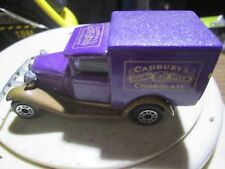 Matchbox Model T Ford Cadbury Milk Chocolate Model INTL 1979