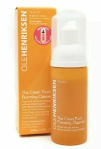 Ole Henriksen THE CLEAN TRUTH Foaming Cleanser  & Makeup Remover 50ml New Boxed