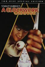 Stanley Kubrick's A Clockwork Orange (Dvd, 1971, 2-Disc Special Edition) New!