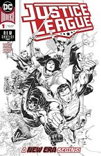 JUSTICE LEAGUE #1 1:100 Jim Cheung Inks Only Variant DC Comic NM
