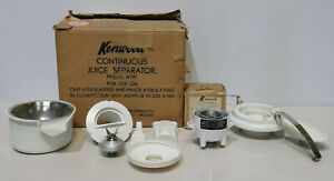 Vintage Kenwood Chef Juice Separator A781 and Juice Separator A781 BOXED -223