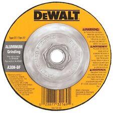 "10 DEWALT 5"" x 1/4"" x 5/8""-11 Aluminum Soft Metals Angle Grinding Wheel Type 27"
