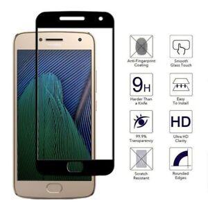 Full Screen Cover Motorola Moto One,G8,Z4,E6,G7 Tempered Glass Screen Protector