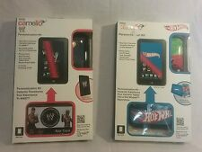 NEW Vivatar Camelio tablet case,cloth,app card ,Hot Wheels and WWE wrestling lot