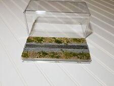 N Scale Display Case - Locomotive Rolling Stock Train