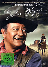 John Wayne Box (2012) - 4 Filme auf 2 DVD´s - neu & ovp