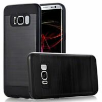 Samsung Galaxy S8 Case Armor Shockproof case Black- Canadian Shipping