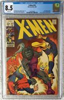 CGC 8.5 X-MEN #53 .. ORIGIN OF BEAST .. 1ST BARRY WINDSOR-SMITH U.S. COMIC WORK