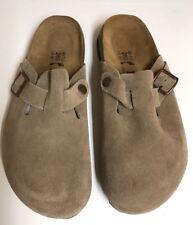 Betula Birkenstock Suede Clogs Mules Sandals Shoes SZ Womens 9- Mens 7 FAST SHIP