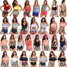 US Womens Push Up Padded Bikini Set High Waisted Swimsuit Bathing Suit Swimwear
