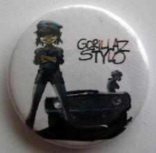 Gorillaz  - Stylo 25mm Pin Badge Gorillaz 13