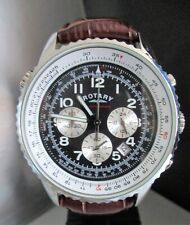 ROTARY MENS CHRONOGRAPH WATCH.