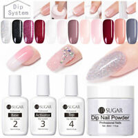 UR SUGAR 15ML Dipping System UV Gel Nail Art Powder Liquid  Fast Dry